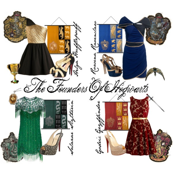 Harry Potter inspired fashion.