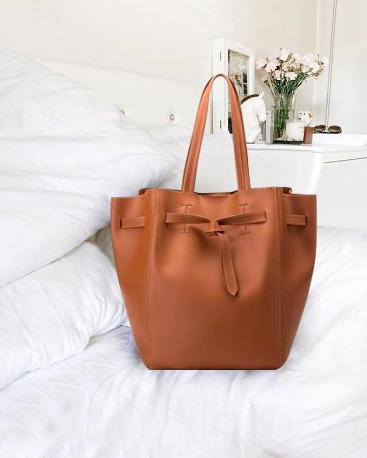 Melie Bianco Dervy Bucket Bag with Extra Bag & Detachable Strap