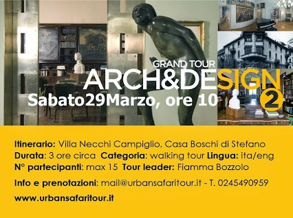 Discover #architecture and #design from the past century in Milano. Saturday, March 29 - 10am
