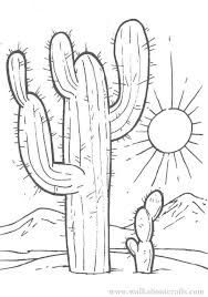 Image result for cactus drawing outline