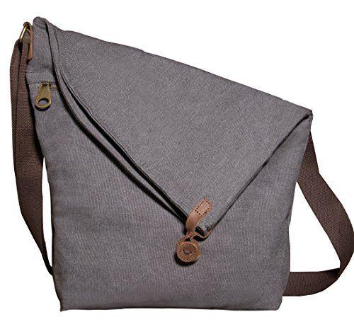 1dc624afdb Canvas Crossbody Travel Bags Vintage Messenger Bag Shoulder Satchel Purse  Unisex