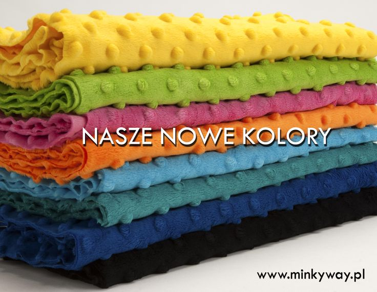 Nowe kolory MINKY DOTS  www.minkyway.pl