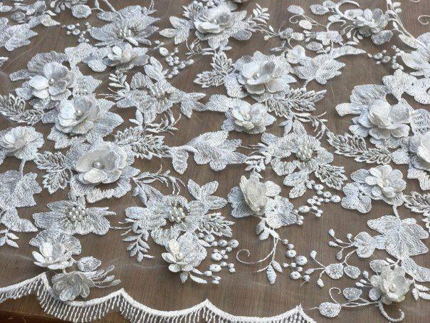 Гипюр, Свадебные кружева и Вечерние Ткани Одесса