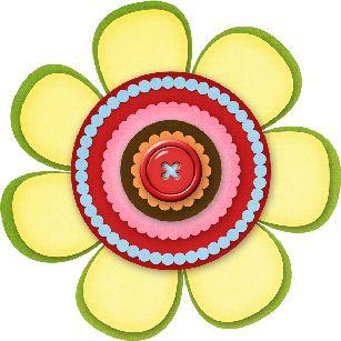 Osos botones mariposas flores png manualidades para - Manualidades para chicos ...
