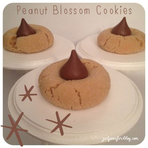 Just Jennifer : Peanut Blossom Cookies