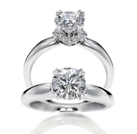 花のがくを意味する「キャリクス」 *エンゲージリング 婚約指輪・ハリーウィンストン一覧*