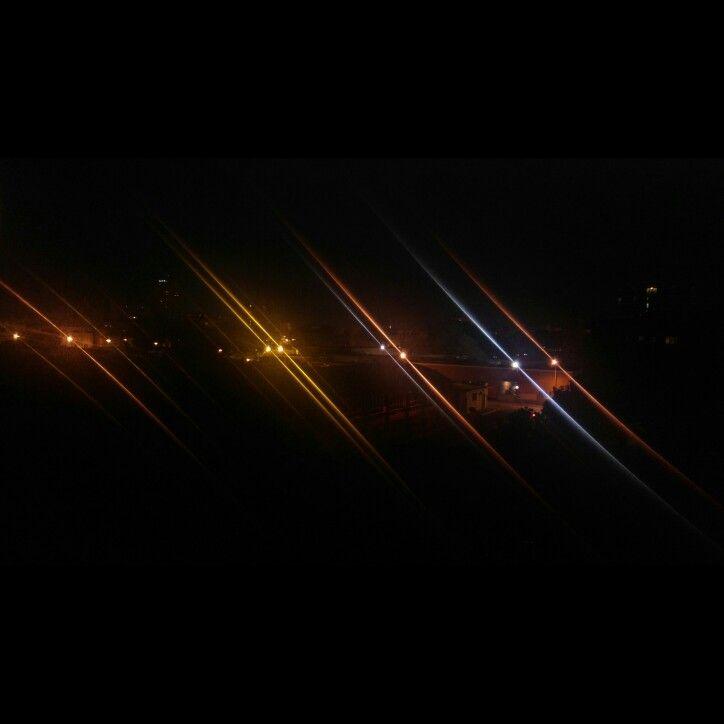 #lights #night #dark #street #blackout