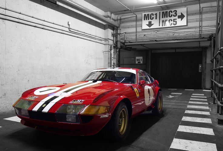 (1969 / 1973) Ferrari 365 GTB/4 Daytona Groupe IV Competizione