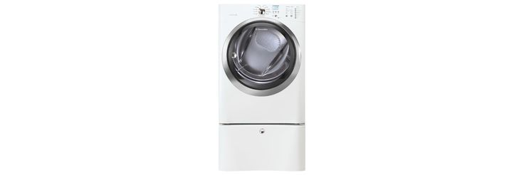 Electrolux Appliances Front Load Gas Dryer with IQ-Touch™ Controls featuring Perfect Steam™ - 8.0 Cu. Ft. EIMGD55IIW
