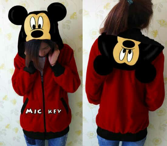 #jaket #mickeymouse, fit to L @ 95.000