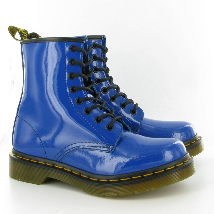 Blue Doc Martens. Who the hell doesn't want a pair of these bad boys!