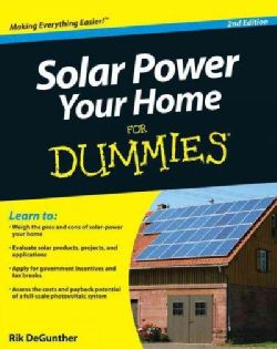 Shop for Solar Power Your Home for Dummies (Paperback). Free Shipping on orders…