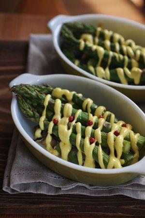 **ホームパーティー料理** オーブン任せな簡単レシピ! アスパラとオイルサーディンのオーブン焼き