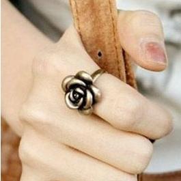 Ava Bronze Rose Ring $9.00