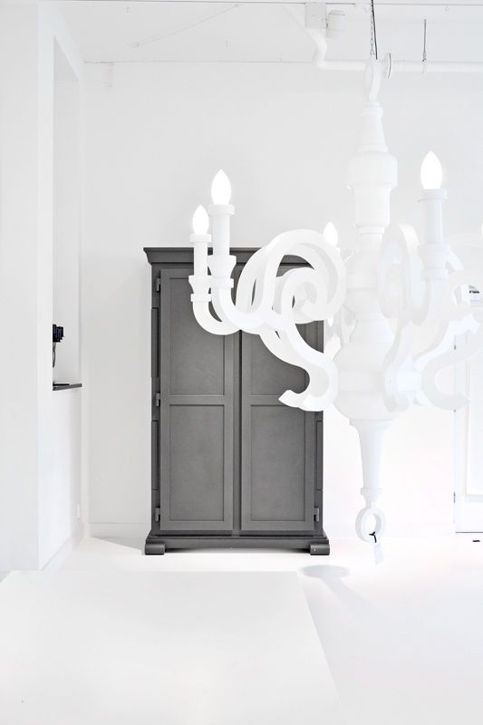 Love the gray, the contrast against the white.   Prefer a less stark white room, have to have this gray color in my home.