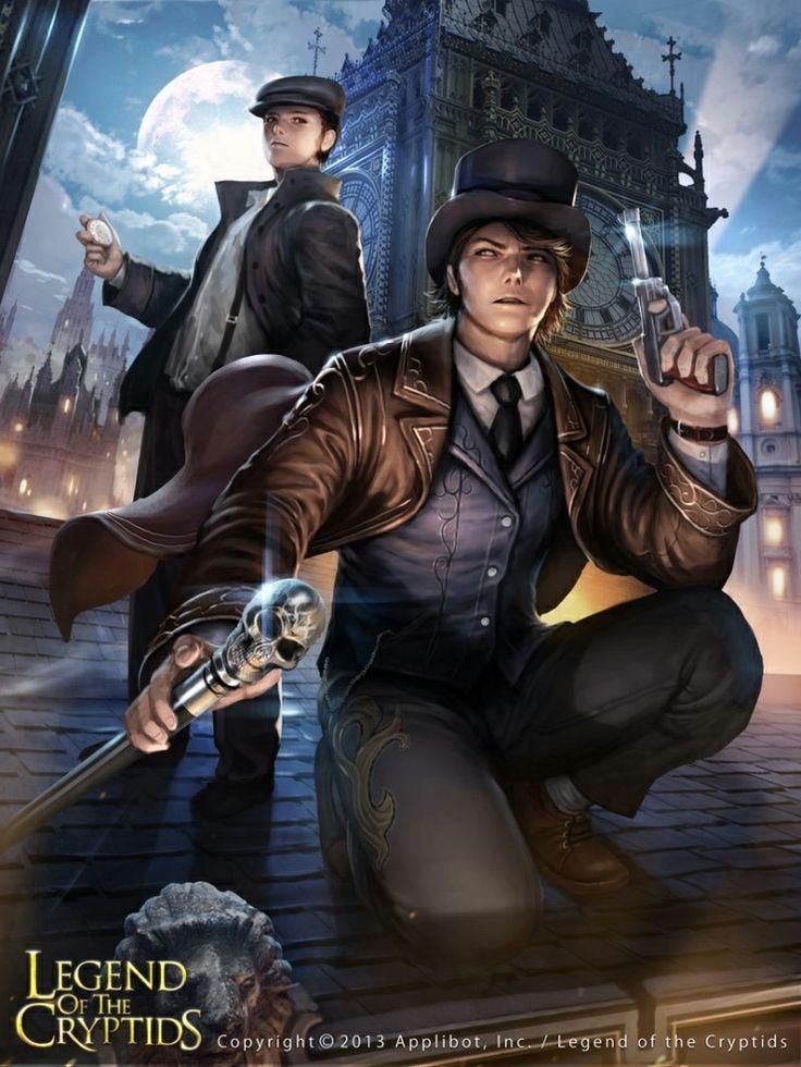 Artist: Woochul Lee aka atomiiii - Title: Unknown - Card: Luis the Daring Detective