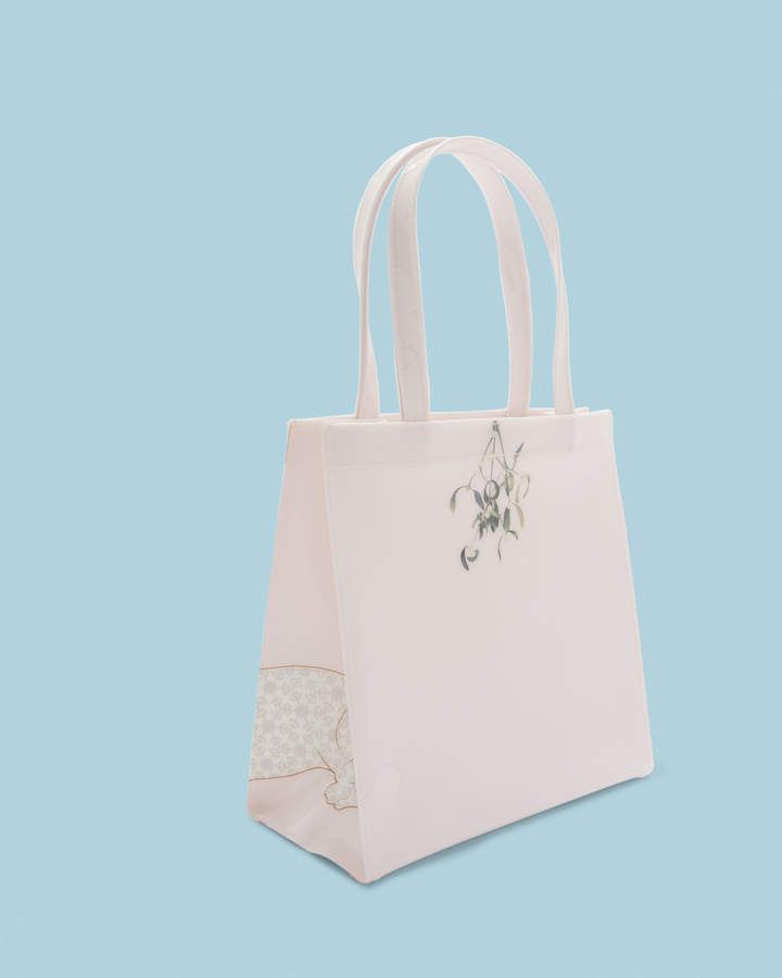 17dd8ac2c6f1b Ted Baker LOLACON Small Cotton Dog mistletoe icon bag  LOLACON Small ...