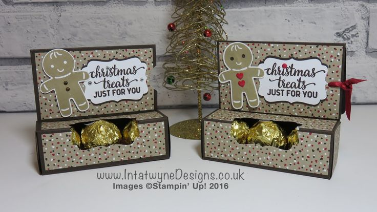 Crafty Christmas Countdown #4 - Gift Card Holder with Ferrero Rocher Cho...