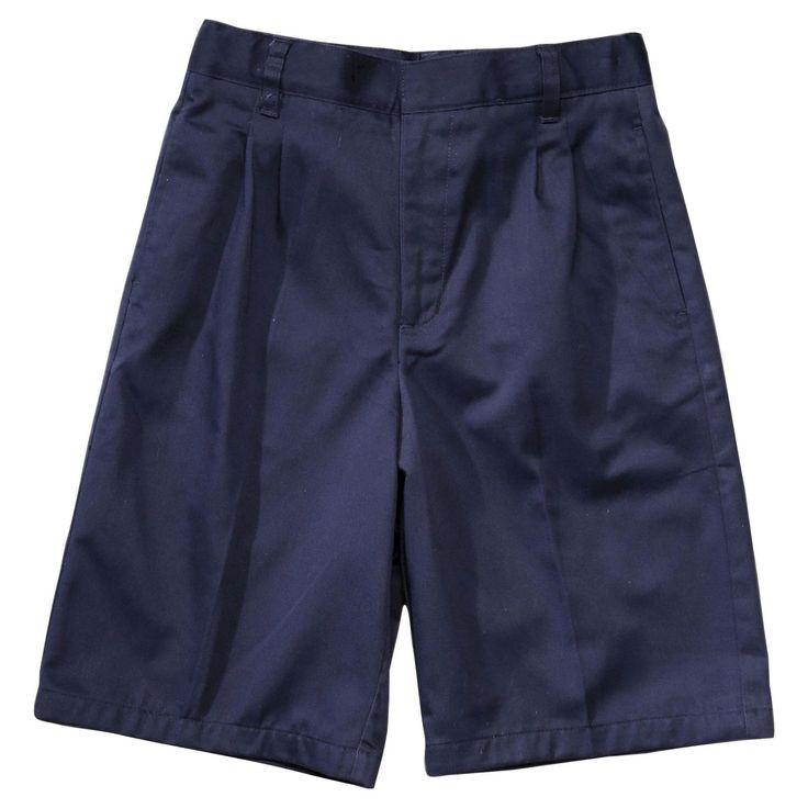 French Toast Boys' Pleated Shorts - Khaki 16, Blue
