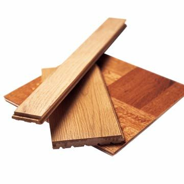 You needn't fear to tread on wood in your kitchen or bath.