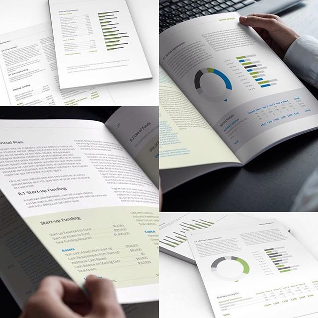 graphicriver #indesign #business #plan #template #design http ...