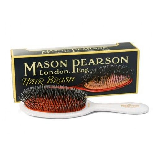 Mason Pearson Popular Nylon & Bristle Brush - Ivory | Free Shipping at Ry.com.au