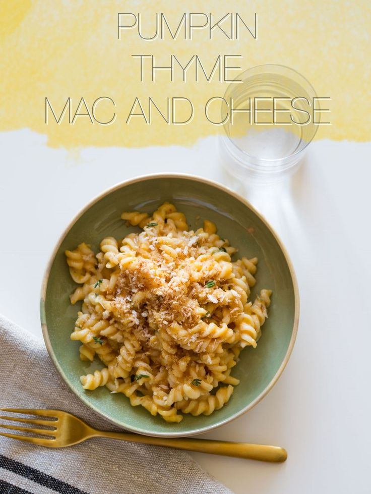 Mac and CheeseMacaroni And Chees, Pumpkin Thyme, Mac N Cheese, Pumpkin ...
