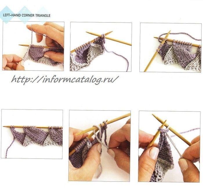 Техника Вязания Спицами — Энтерлак | Ниточка