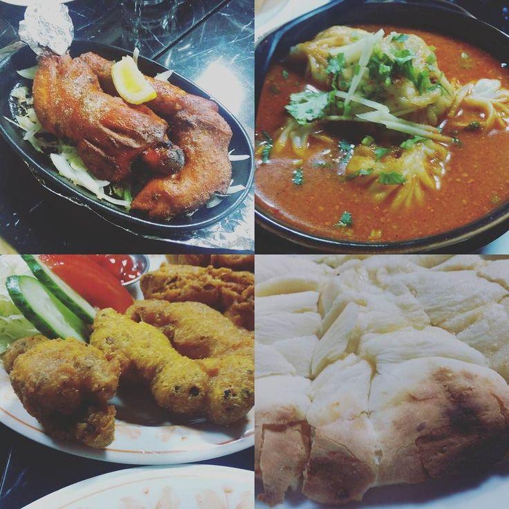 OMSライブのアフターはライブハウスの上の階のネパールインド料理レストラン#ROILAにて 周り日本人あまりいなかったけど食べて飲んでお腹いっぱい お財布にも優しいいいお店でしたよ #nepali #nepal #indea #蒲田 #curry