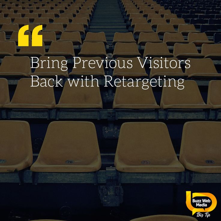 A #retargeting campaign is a powerful tool to keep your #business front of mind and bring them back for more.  #branding