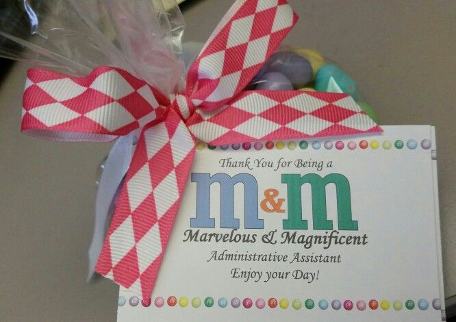 Administrative Assistant Day.... or for anyone who is Marvelous and Magnificent