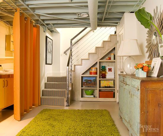 Running out of space in your home? Look down under.