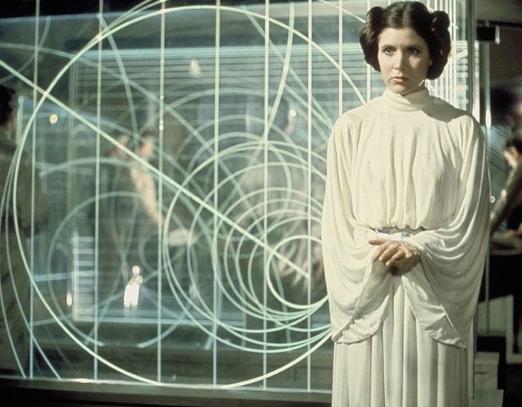 RIP Carrie Fisher aka Princess Leia. :(