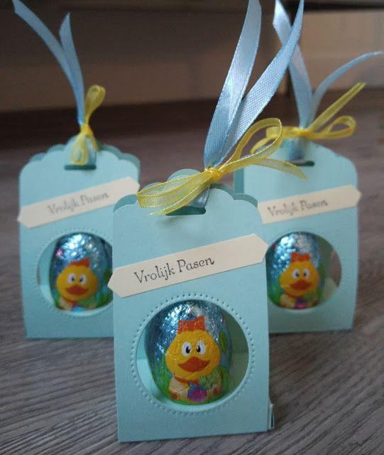 Daans knutselkamer: Kleinigheidje voor Pasen