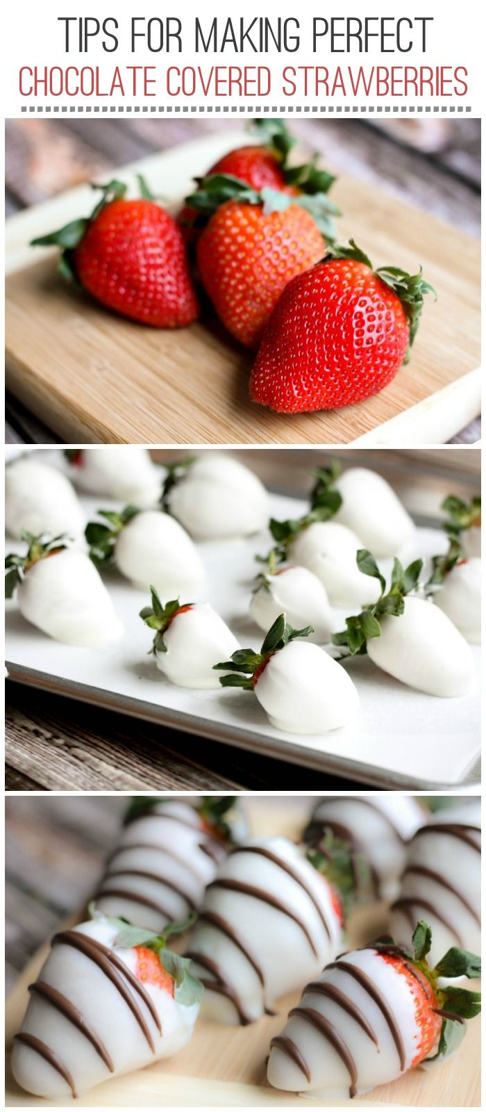 Chocolate Covered Strawberries Tutorial