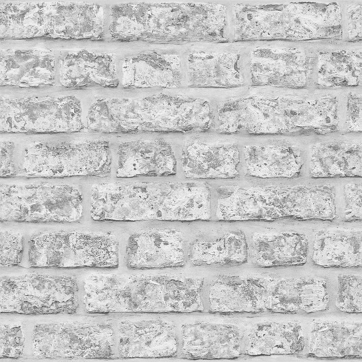 Rustic Brick Grey wallpaper by Arthouse