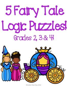 I+created+these+5+logic+puzzles+for+beginners.+They+each+have+a+fairy+tale+theme.+I+used+characters+from+popular+fairy+tales+such+as+Goldilocks+and+the+Three+Bears+and+Snow+White.+The+clues+I+used+were+made+up+by+me+and+may+or+may+not+be+part+of+the+actually+fairy+tale.