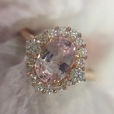 Design Your Custom Engagement Ring | Award Winning Jeweller | Rare Pink