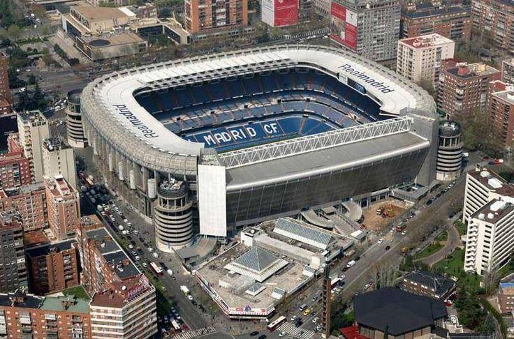 Madrid Bernabeu stadion  foto @ Luis Mena Moreno