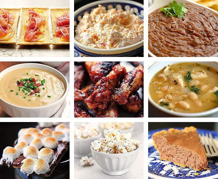 Yummy Super Bowl food ideas for your upcoming viewing party!
