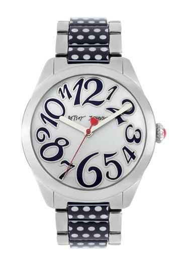 Time warp: Betsey Johnson Watch <3