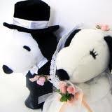 Snoopy & Belle Wedding Couple