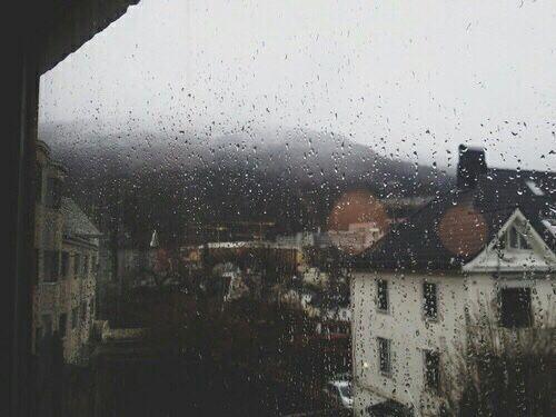 Rain and tea and coffee