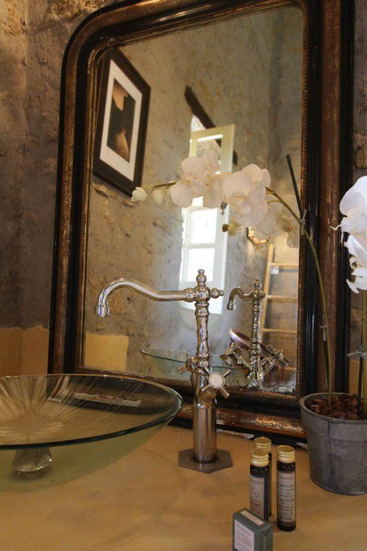 Bathroom Powder Room Mirror Vanity Decorating Ideas Home Decor French Modern Country Provence