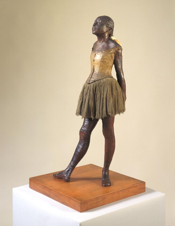 Edgar Degas, 'Little Dancer Aged Fourteen' 1880–1, cast c.1922