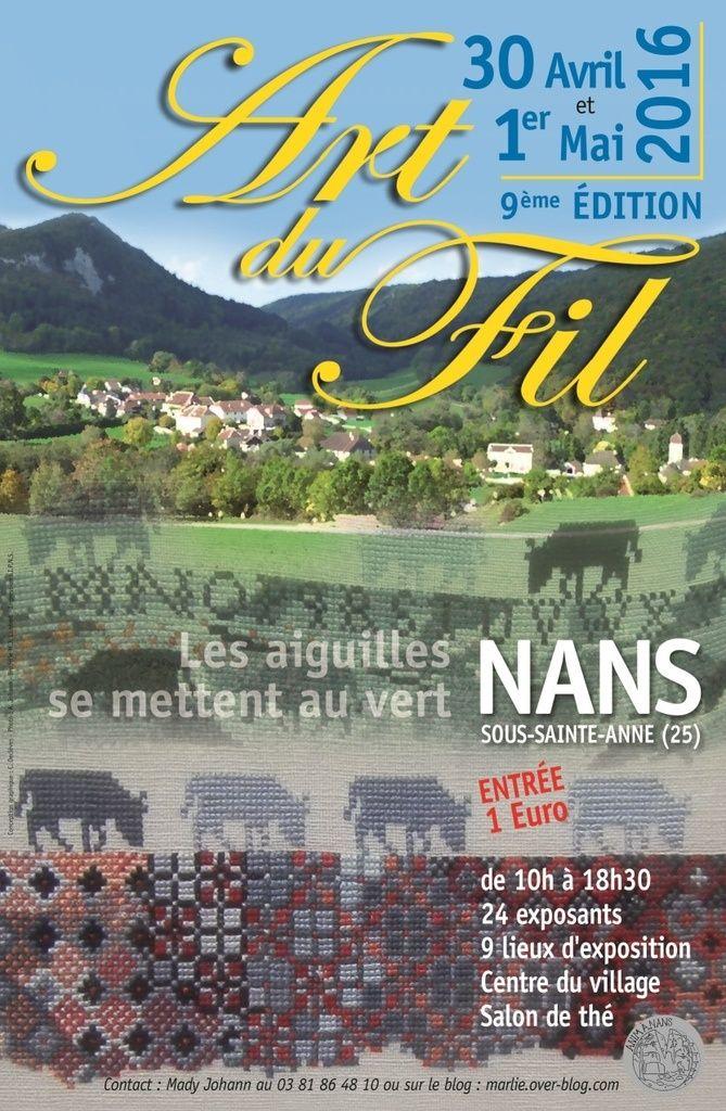 9e Art du Fil à Nans sous Ste Anne / Doubs