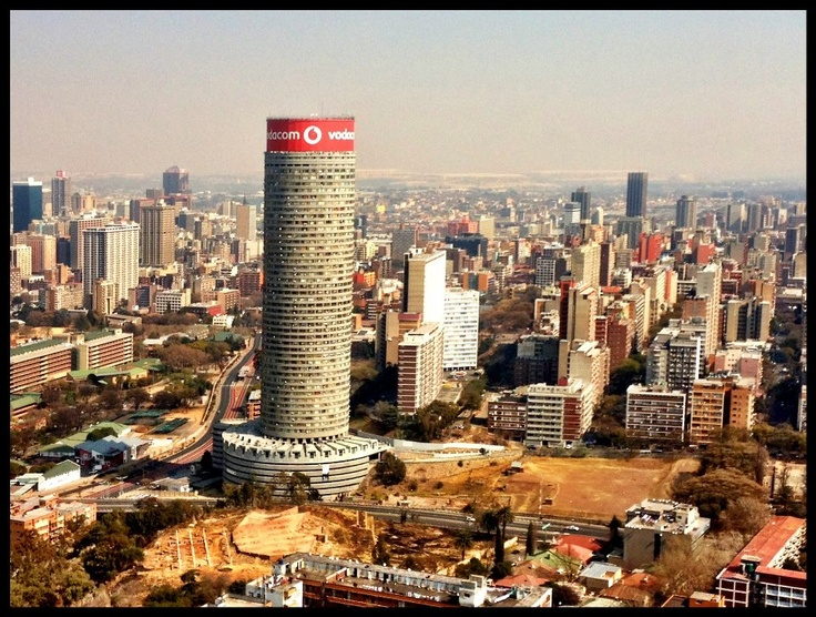 JOHANNESBURG FROM THE HILL