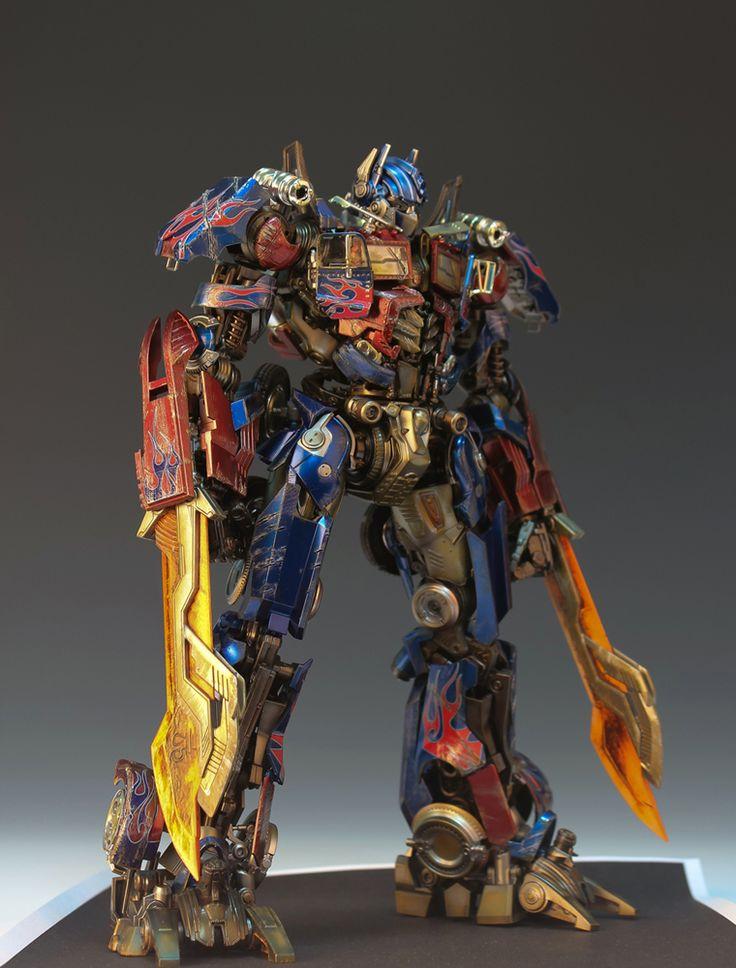 模型・プラモデル投稿コミュニティ【MG-モデラーズギャラリー】ガンプラ AFV ジオラマ  - オプティマス プライム