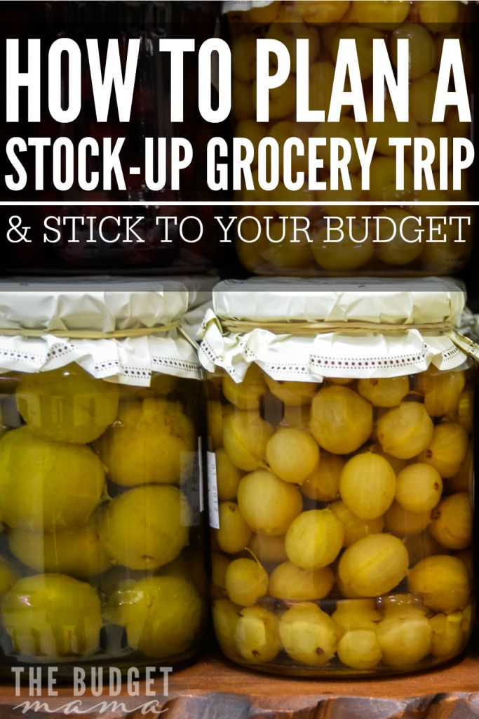 Wondering how you can save more money at the grocery store? Make sticking to your budget easier with a stock-up trip! How to plan a stock-up grocery trip and stick to your budget is made easier with a solid plan in place! VisaClearPrepaid AD