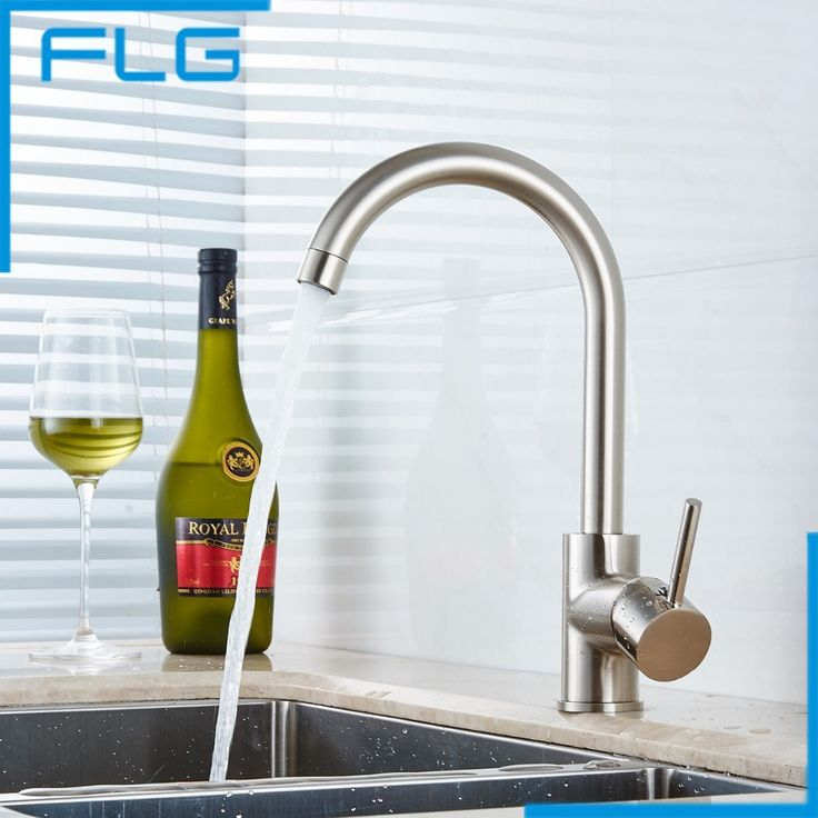Hot Sale Hot and Cold Water Copper Kitchen Faucet - Polished Nickel Finish Spray Kitchen Mixer Taps